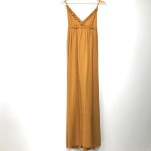 Active USA Marigold / Mustard Yellow Maxi Dress